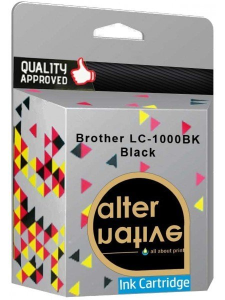 Alternative Brother LC-1000BK Μελάνι Black