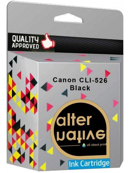 Alternative Canon CLI-526BK Μελάνι Black 4540B001