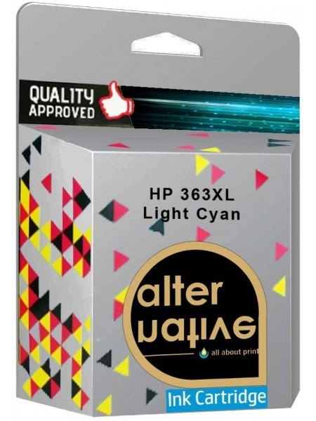 Alternative HP 363XL Μελάνι Light Cyan C8774EE