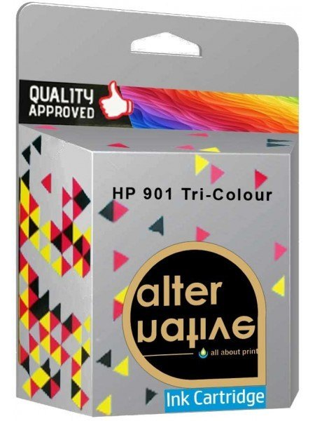 Alternative HP 901 Μελάνι Tri-Colour CC656AE