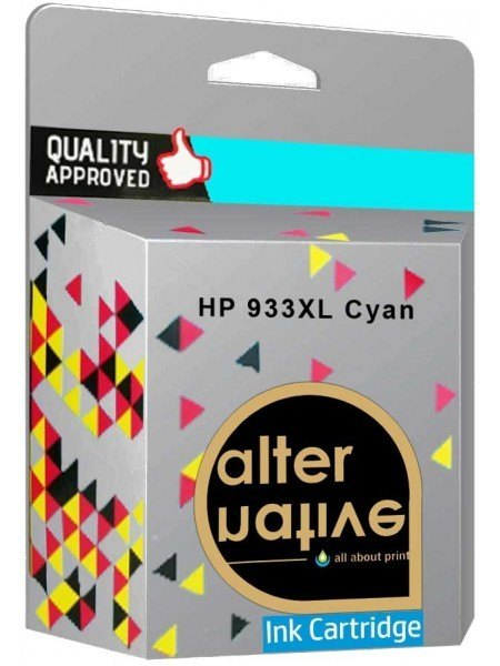Alternative HP 933XL Μελάνι Cyan CN054AE
