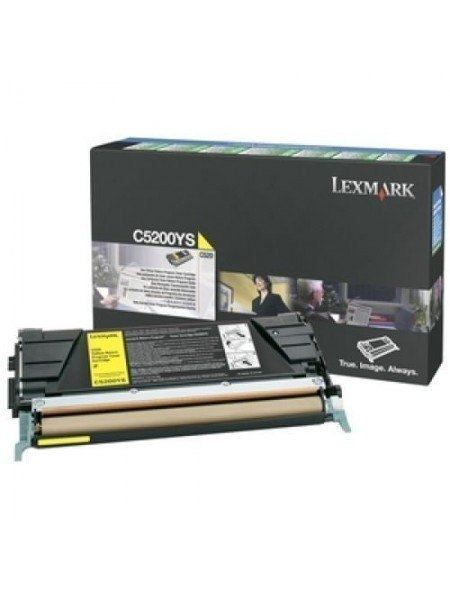 Lexmark C5200YS Original Toner Yellow