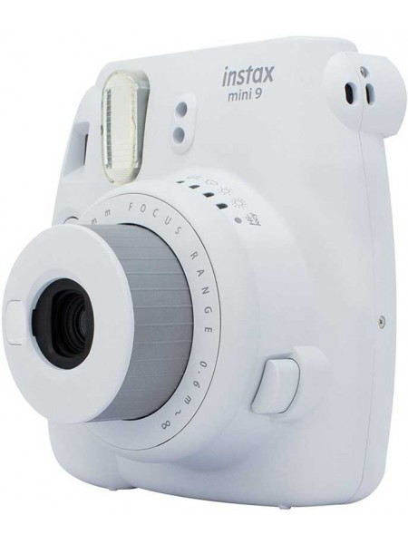 Fujifilm Instax Mini 9 Instant Camera Smoky White
