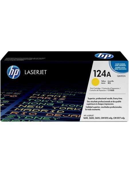 HP 124A Toner Yellow Q6002A