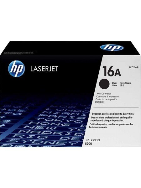HP 16A Toner Black Q7516A