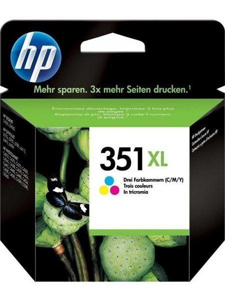 HP 351XL Μελάνι Tri-Colour CB338EE