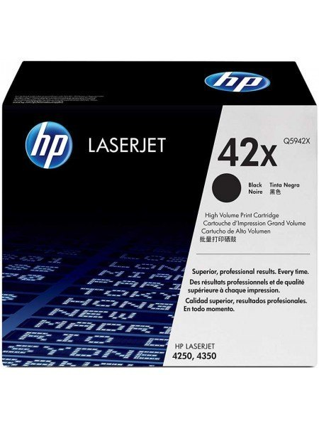HP 42X Toner Black Q5942X
