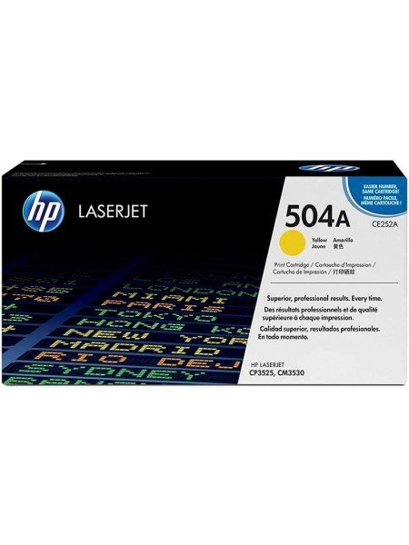 HP 504A Toner Yellow CE252A