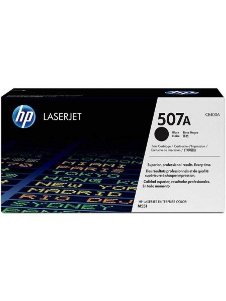 HP 507A Toner Black CE400A