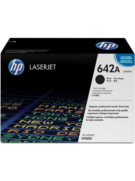 HP 642A Toner Black CB400A
