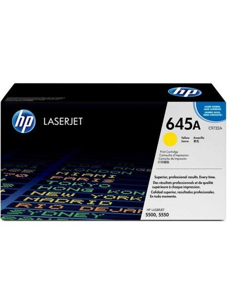 HP 645A Toner Yellow C9732A