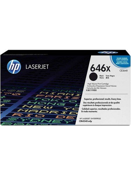 HP 646X Toner Black CE264X