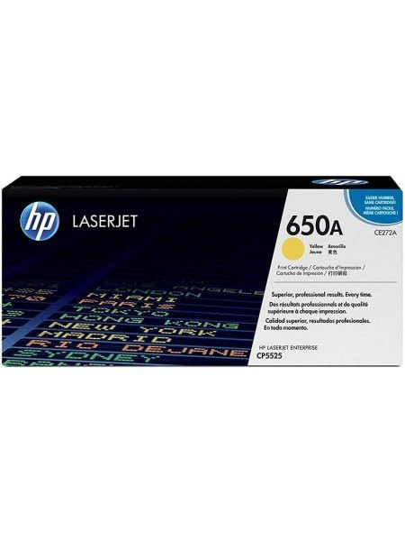 HP 650A Toner Yellow CE272A