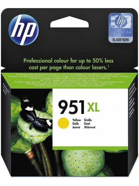 HP 951XL Μελάνι Yellow CN048AE