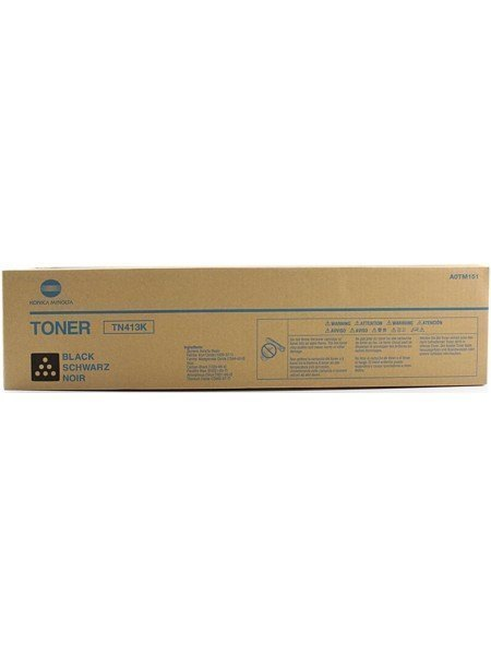 Konica Minolta TN-413K Toner Cartridge Black