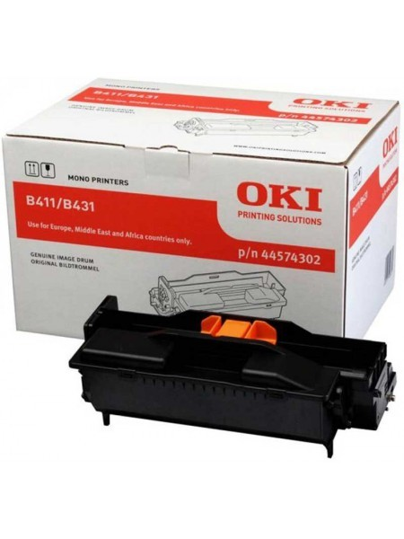 OKI 44574302 Drum Black