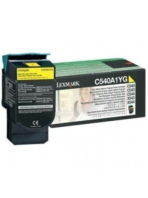 Lexmark C540A1Y Original Toner Yellow
