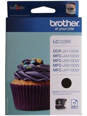 Brother LC-123 (LC123BK) Original Μελάνι Black