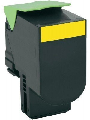 Lexmark 80C2HY0 Original Toner Yellow