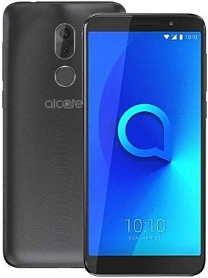 "Alcatel 3X Dual SIM 5.7"" 32GB Smartphone Metal Black"