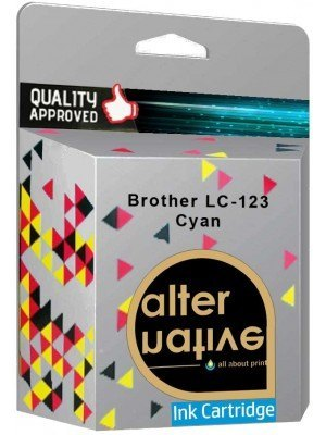 Alternative Brother LC-123 Μελάνι Cyan