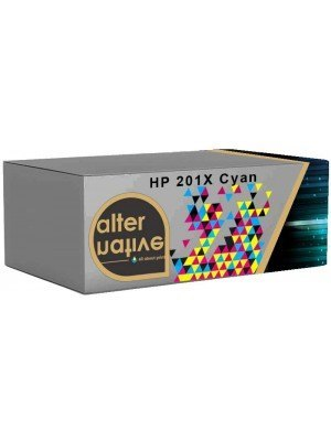 Alternative HP 201X Toner Cyan CF401X