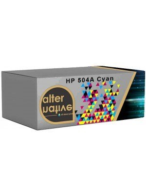 Alternative HP 504A Toner Cyan CE251A