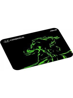 ASUS Cerberus Mat Mini Gaming Mousepad Μαύρο/Πράσινο