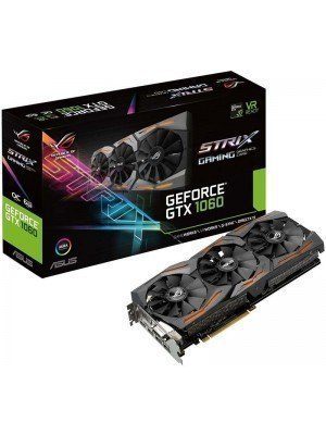 ASUS NVidia GeForce GTX1060 ROG Strix 6GB GDDR5