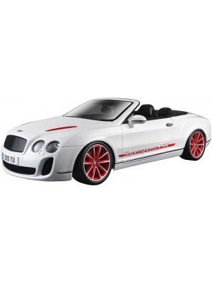 Bburago Bentley Continental Supersports Convertible ISR 1/19
