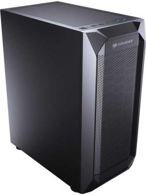 Cougar MX410 Mesh Middle ATX Black Κουτί Η/Υ