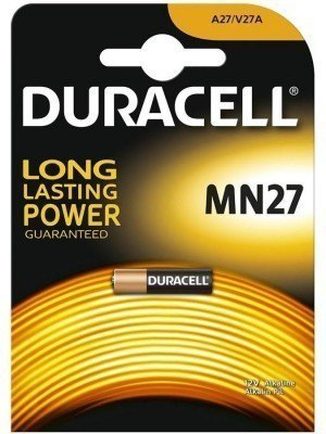 Duracell Security 12V Αλκαλική Μπαταρία MN27 1Τεμ.