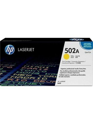 HP 502A Toner Yellow Q6472A