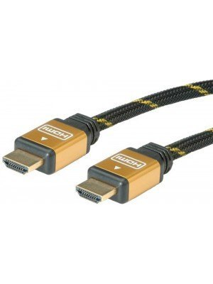 Καλώδιο HDMI 1m M/M Gold Plated v1.4