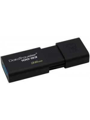 Kingston Data Traveler 100 G3 USB 3.0 32GB Μαύρο
