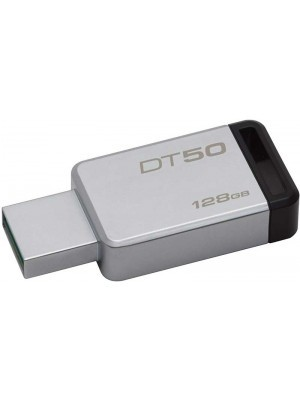 Kingston Data Traveler 50 USB 3.0 128GB Μαύρο