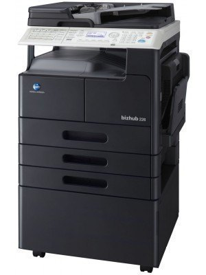 Konica Minolta DK-707 Copier Desk (Medium)
