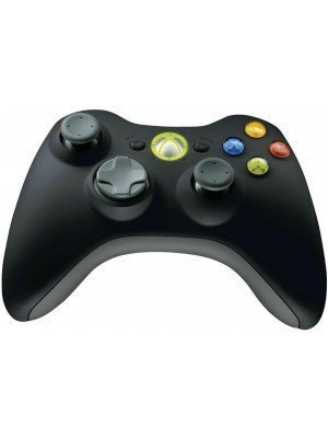 Microsoft Xbox 360 Wireless Controller Common Μαύρο