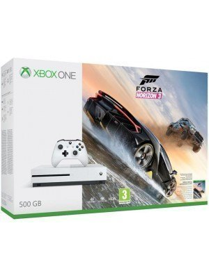 Microsoft Xbox One S 500GB Λευκό & Forza Horizon 3