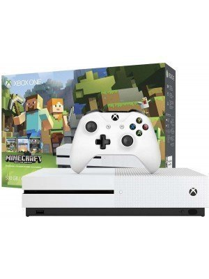 Microsoft Xbox One S 500GB Λευκό & Minecraft Favorites