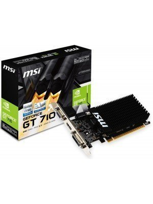 MSI NVidia GeForce GT710 2GB DDR3 Passive LP