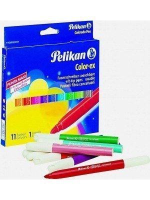 Pelikan Color-ΕΧ 4141 Χονδροί Μαρκαδόροι Σετ 11+1 Τεμάχια