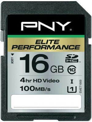 PNY SD 16GB Elite Performance 100MB/s
