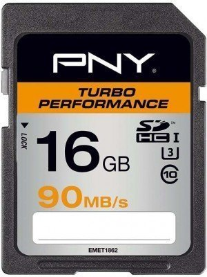 PNY SDHC 16GB Turbo Performance 90MB/s