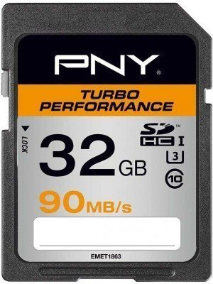 PNY SDHC 32GB Turbo Performance 90MB/s