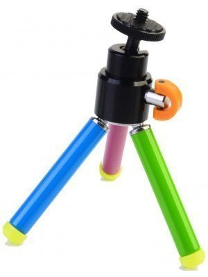 "Polaroid Heavy Duty Tripod with Ball Head - 8"" - Μαύρο"
