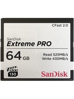 SanDisk Compact Flash Extreme Pro CFast2.0  64GB 525MB/s