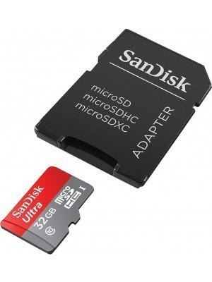 SanDisk MicroSD(HC) Ultra Android 32GB 98MB/s + SD Adapter