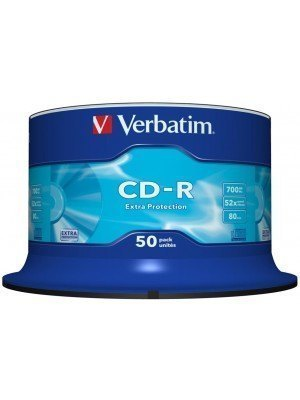 Verbatim CD-R Extra Protection 700MB 50 Τεμάχια