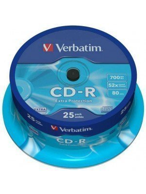 Verbatim CD-R Extra Protection 700MB Spindle 25 Τεμάχια